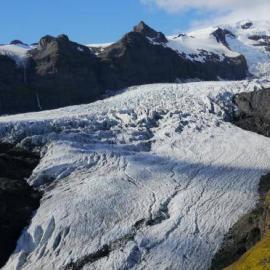 Glacier in Iceland National Park
