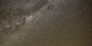 Stunning night sky in Botswana