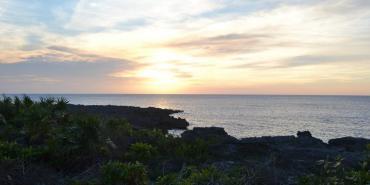 Rocky coastline in Cuba