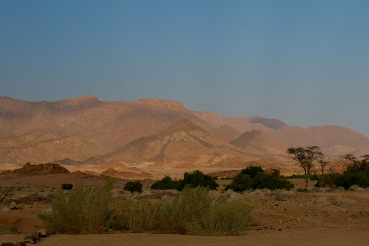 Stunning view of nature in Namibia