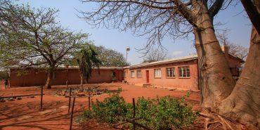 View of volunteer house at Limpopo Lipadi