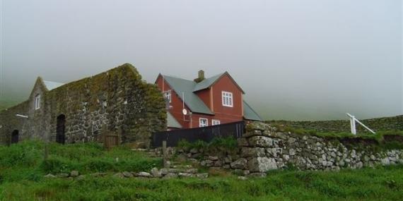 Farm on the Faroe Islands