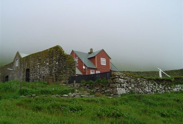 Farm on the Faroe Islands