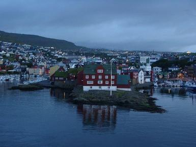 Torshavn in the Faroe Islands