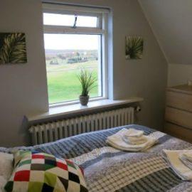 Volunteer bedroom in Iceland