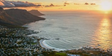 View of Cape Town taken by Pietro