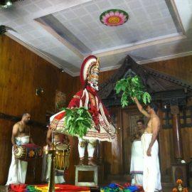 Kathakali show in Kochi, India