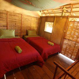 Volunteer room in Laos