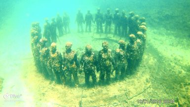 Sunken heads in Grenada