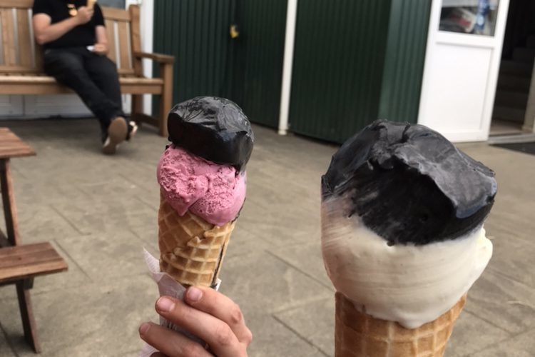 Efsti Dalur Ice cream from Iceland