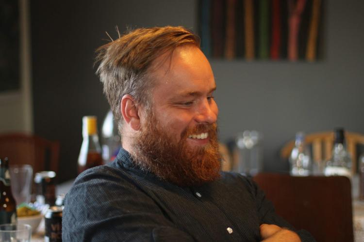 Team leader for volunteers Jon, in Iceland