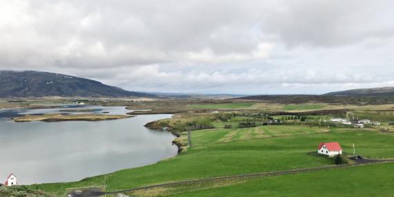 Ulflojotsvatn view in Iceland