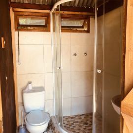Volunteer bathroom in South Africa