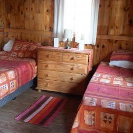 Volunteer bedroom in South Africa