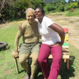 Senior volunteer in South Africa
