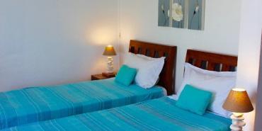 Volunteer bedroom in Mauritius